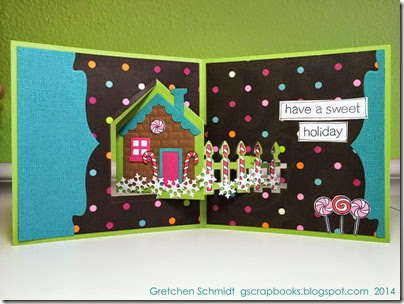 Merry Christmas card by @gscrapbooks