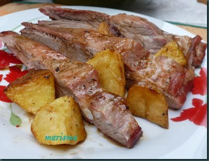 costilla de cerdo asada,racion1 copia