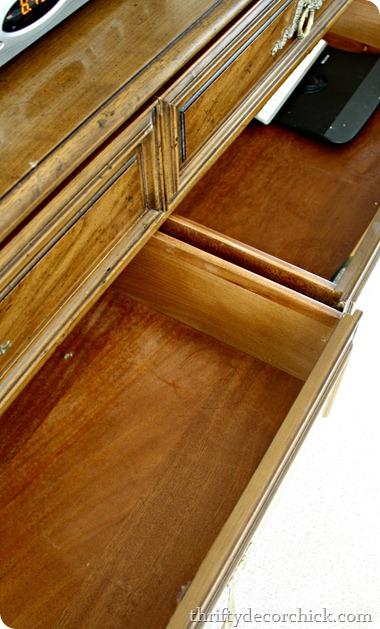 Dresser for organizing