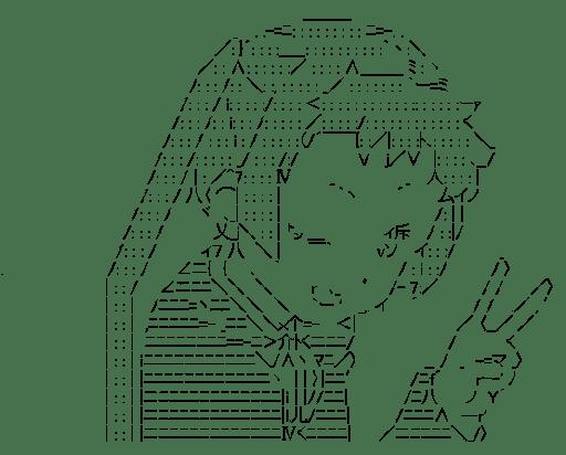 凸守早苗 ピース (中二病でも恋がしたい!)
