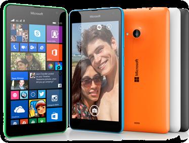 Microsoft Lumia 535 ja sen värivaihtoehdot