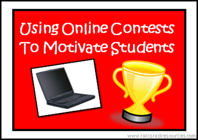 Using online contests to motivate students - digital storytelling, photography, writing, art and philosophy