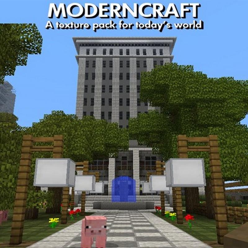 Minecraft 1.4.4 - ModernCraft Texture Pack 16x