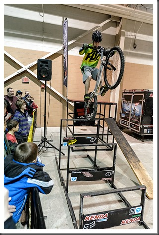 Motorama Events Mountain Bike Stunt Show