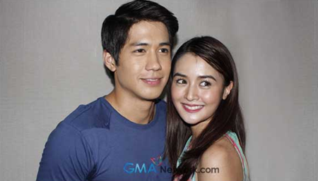 Aljur Abrenica and Kris Bernal