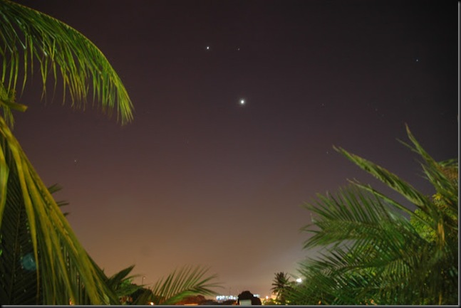 Jupiter Aldebaran