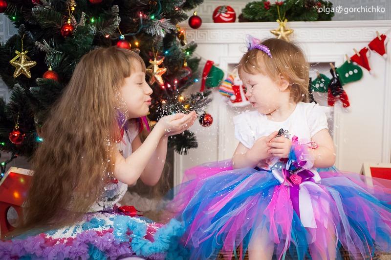 Детский новогодний фотопроект Рождественские мечты. 16. Аня и Саша Муреня-9365
