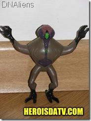 dnalien vilão Bonecos Ben 10 Força Alienígena - brinquedos