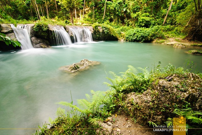 Third Level of Cambugahay Falls in Siquijor