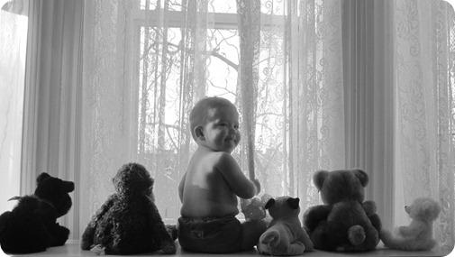 Nolan's 6 Month Portraits