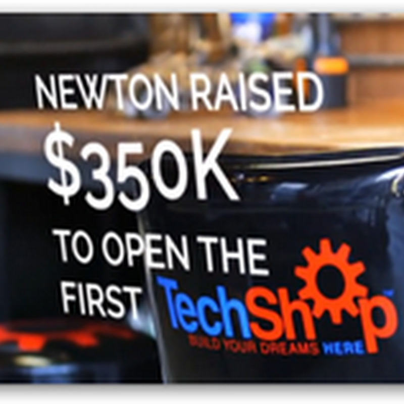 TechShop–High End Machinery Working With Software Technologies to Create Tangible Products