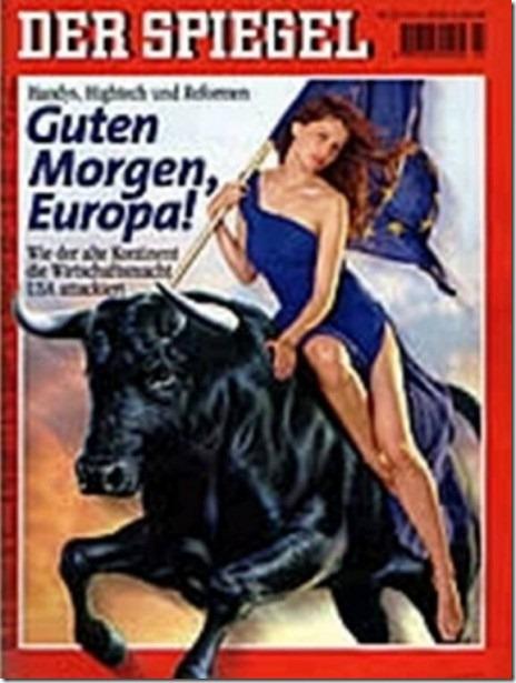 Mulher montada na besta-Der-Spiegel