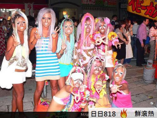 日本新人種 白臉辣妹3