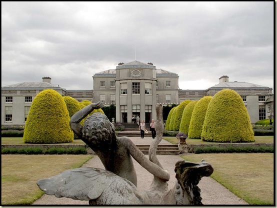 Shugborough - from the rear of the house