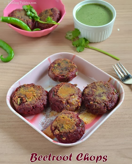 Beetroot Chops Recipe