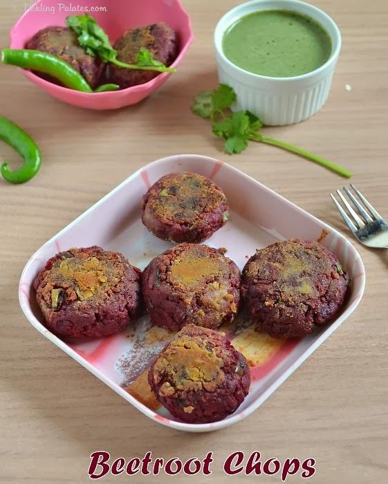 Beetroot Chops Recipe