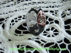 theater mask ring, hyphen