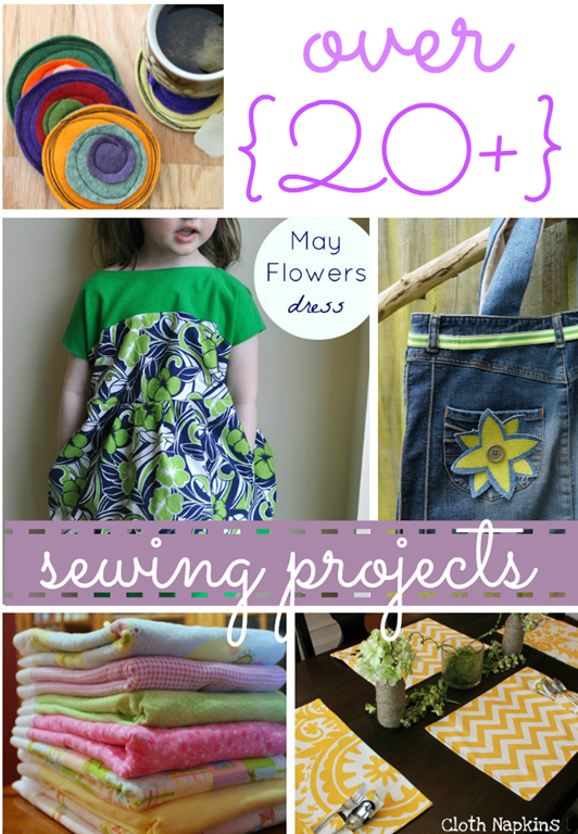 over 20  sew projects #gingersnapcrafts #features