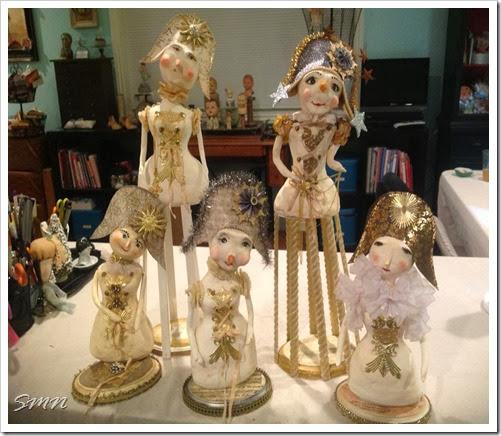 xmas dolls