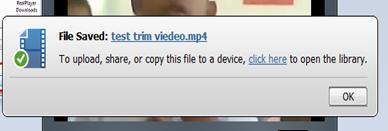 ตัดต่อวีดีโอด้วย Realplayer