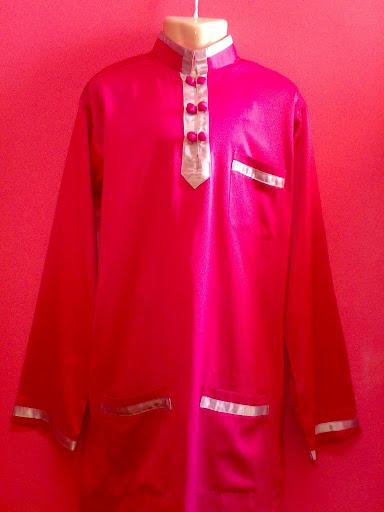Monah De' Collection ~ 0176595814Baju Melayu Butang Congsam ( Tampal