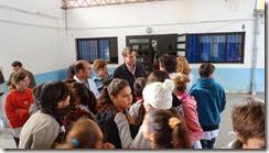 JP visita la Escuela Nº1