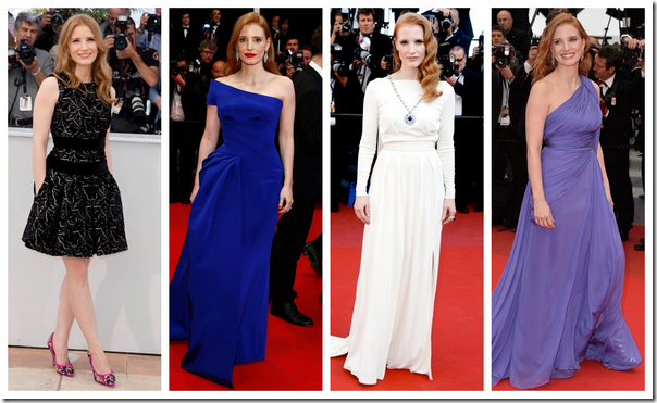 Famosas festival Cannes 2014 06 Jessica Chastain