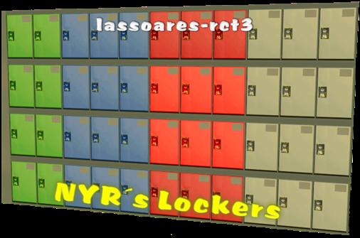 NYR's Lockers (lassoares-rct3)