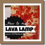How to make a Lava Lamp - 1st Grade Science Experiment