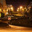 Lombard st at night