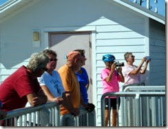 Dan, Gin, Rick, Tricia, Nancy and Gail at Cedar Key City Pier