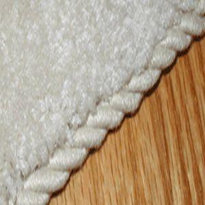 Add a trim of rope with this instant carpet edge binder.  (tools4flooring.com)
