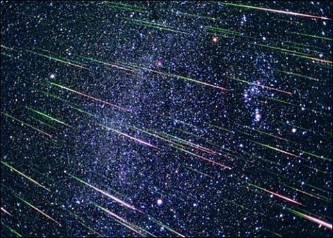 Метеорный поток высокой интенсивности