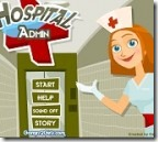 Jogos de m&eacute;dico ~ Administrador hospitalar