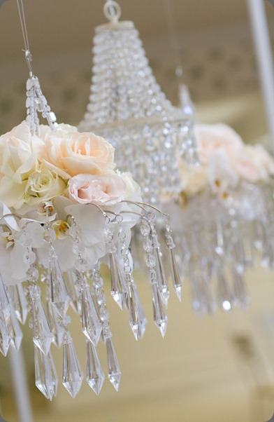 hanging-crystal-chandelier-with-roses-orchids  designs by hemingway
