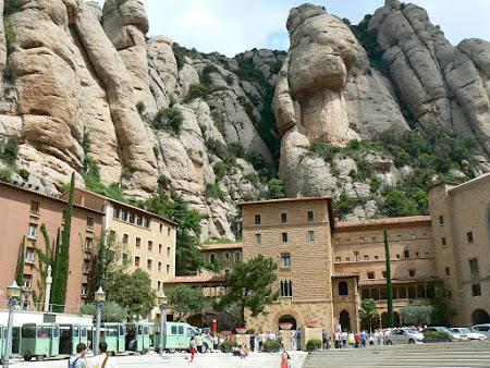 Spectaculos Spania: manastirea de la Montserrat