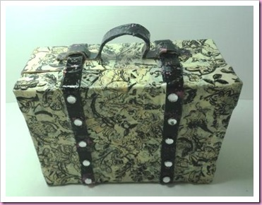 Decopatch papier Mache Suitcase