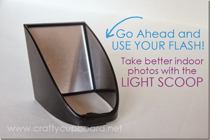 Take better indoor photos with a Light Scoop