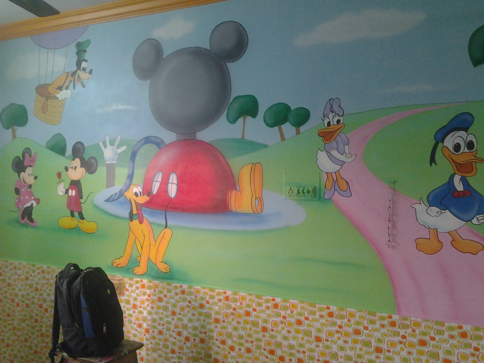 playschool wall painting mumbai kids room wall painting ahmadabad we make fully customized handmade wall murals dor kids room please contact 91 922 168 6556 or visit www wallpaintingmumbai in