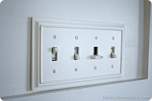 molding light switch cover