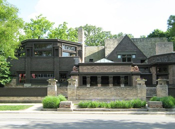 Frank lloyd Wright Studio Chicago avenue