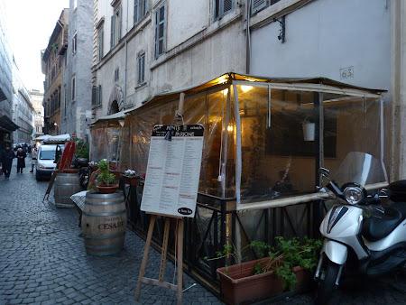 Unde sa mananci in Roma: Restaurant Ponte e Parione