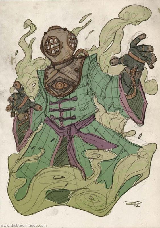 personagens-steampunk-DenisM79-desenhos-desbaratinando (17)