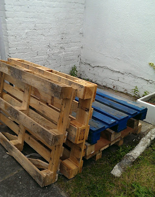 Nostalgiecat Easy Pallet Seating Area For The Garden