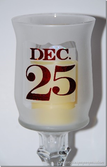 Christmas Etched Candle (6)