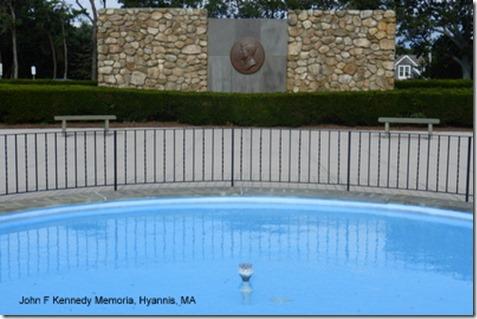 John F Kennedy Memoria, Hyannis, MA