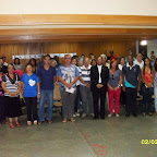 Encontro com famlias hospedeiras - Semana Missionria