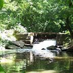 Водопад в парке с. Трикраты