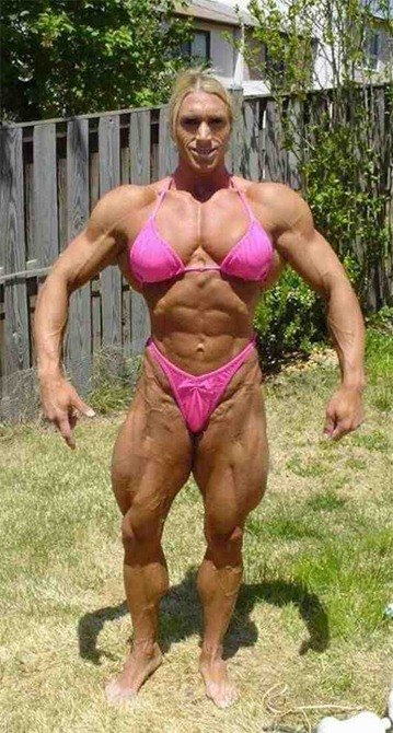muscle-woman