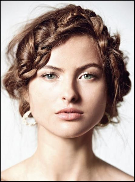 Modern Short Wedding Day Hairstyles